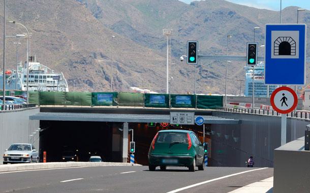 La nueva vía soterrada fue inaugurada a principios del pasado mes de mayo. | SERGIO MÉNDEZ