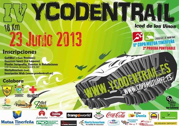 Cartel de la Ycodentrail. | DA
