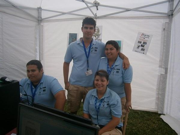 Alumnos del taller Crea-Tic.   N. D.