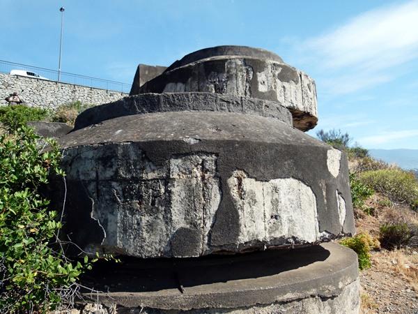 La batería custodia desde el valle de La Orotava hasta la costa de El Sauzal.   MOISÉS PÉREZ