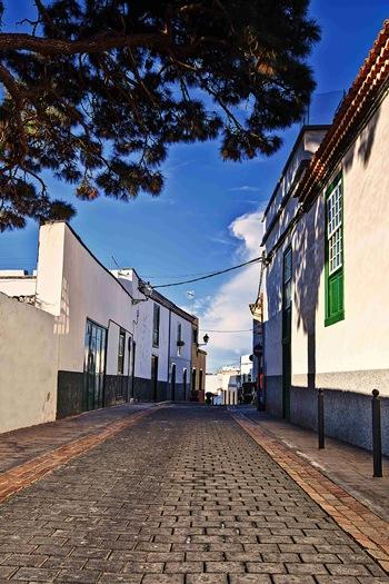 Una de las calles del casco histórico sanmiguelero. | DA