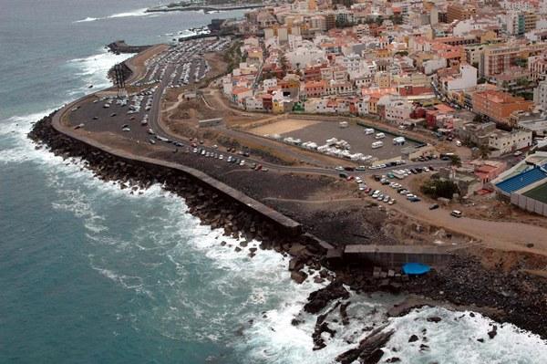 Imagen de archivo de la costa de Puerto de la Cruz. | DA