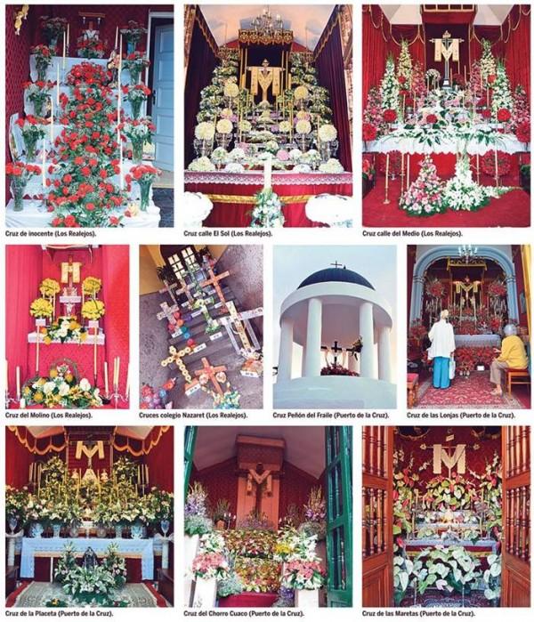 cruces Realejos y Puerto de la Cruz