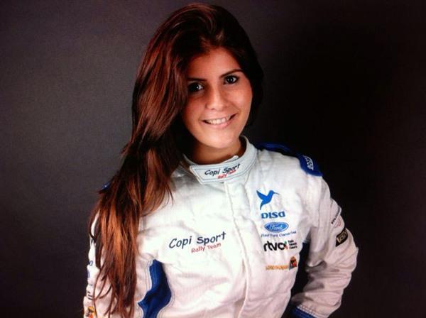 Emma Falcón participa este fin de semana en la prueba. | DA