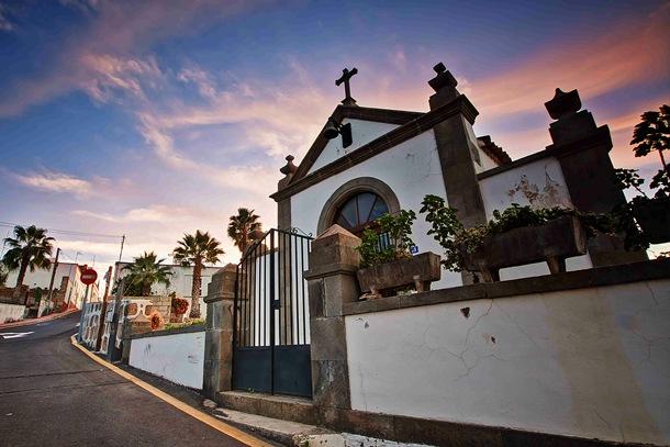 La ermita primitiva de San Miguel fue construida a mediados del siglo XVII, en torno a 1665. | DA