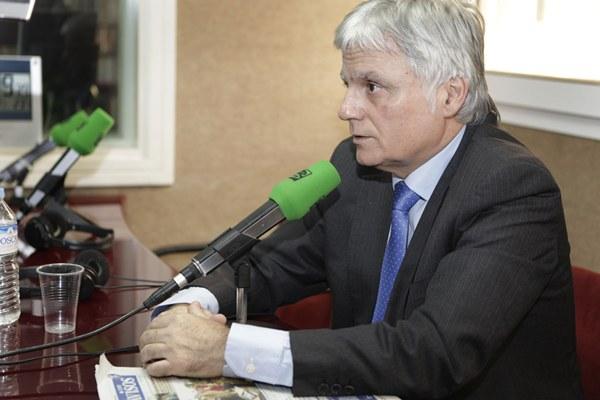 José Miguel Pérez, ayer en el programa Canarias en la Onda, de Teide Radio. | ÓSCAR MARTÍN