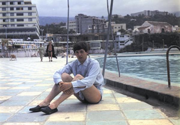 Paul McCartney, en el Lido de San Telmo, en 1963. | DA