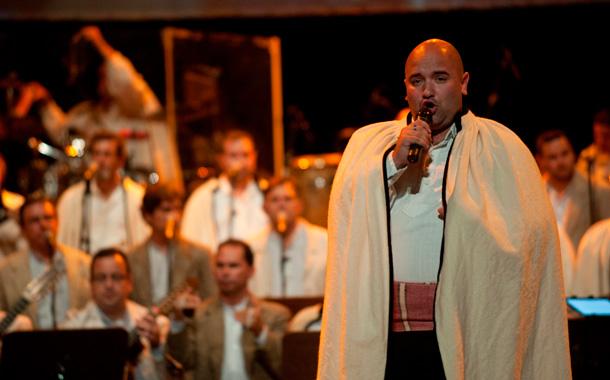 Actuación conjunta de Los Sabandeños y Los Gofiones. / FRAN PALLERO