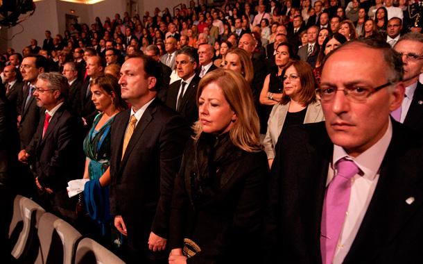 Una vista del público asistente. / FRAN PALLERO