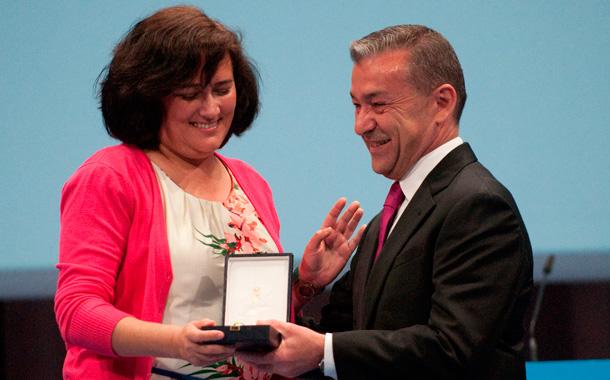 Los galardonados con los Premios y Medallas de Oro de Canarias. / FRAN PALLERO
