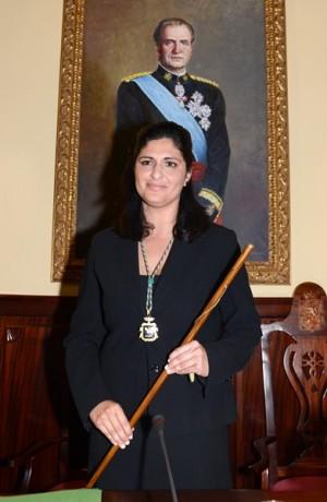 Carmen Luisa Castro, nueva alcaldesa de Güímar. |  SERGIO MÉNDEZ