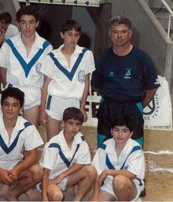 Sotero Díaz en una foto de archivo con uno de sus equipos. | DA
