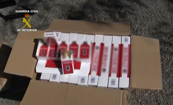 contrabando de tabaco, guardia civil