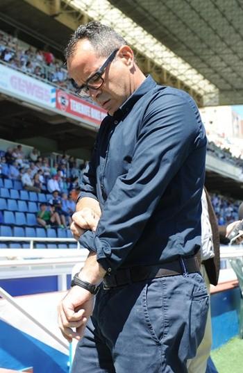 Alvaro Cervera entrenador CD Tenerife