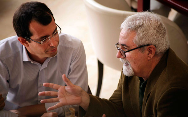 Antonio J. Olivera y José Ángel Rodríguez