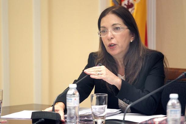 Brigida Mendoza Consejera de Sanidad