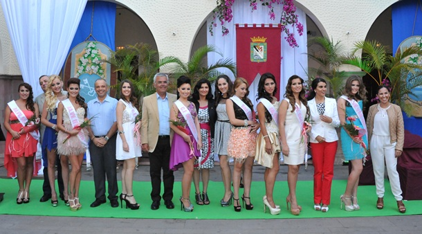 Candidatas Reina de las Fiestas Patronales de San Pedro de Güímar