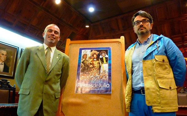CARTEL FIESTAS JULIO PUERTO CRUZ 2013