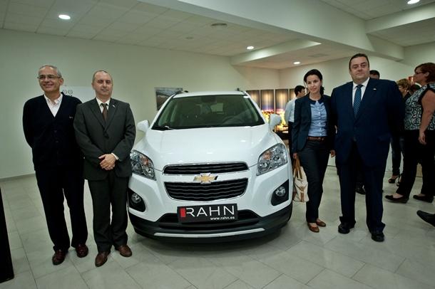presentación Chevrolet Trax en Rahn Los Majuelos