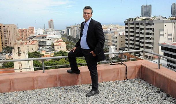 El concejal de Santa Cruz de Tenerife Damaso Arteaga