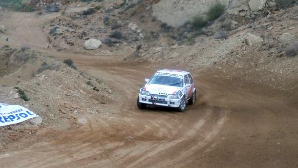 David Martín y Luis Estévez Citroën AX 4x4