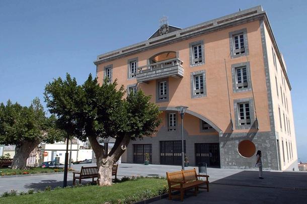 Fachada del Ayuntamiento de Granadilla de Abona