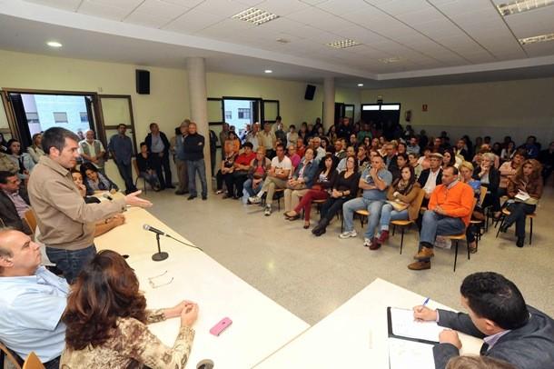 Fernando Clavijo reunion vecinos Las Chumberas