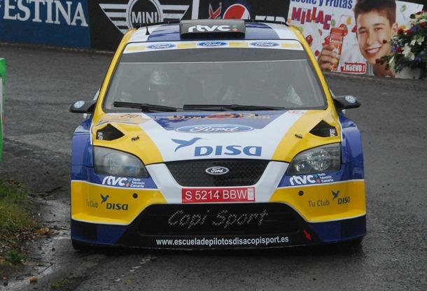 Fotografía de archivo del Ford Focus WRC Copi Capdevila