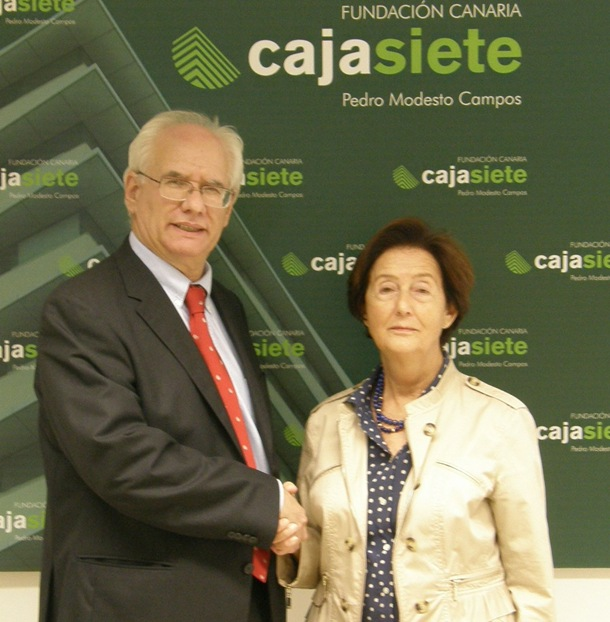 Fundacion Cajasiete-Pedro Acuerdo Fundacion CajaSiete Pedro Modesto Campos y Asociacion Padre Laraña