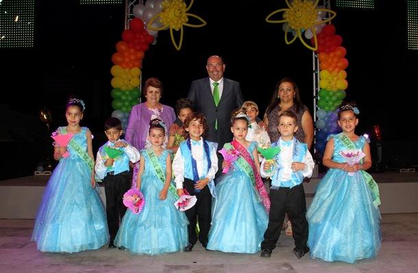 Ganadores y participantes en la Gala Infantil de las Fiestas de San Pedro de El Sauzal. | DA