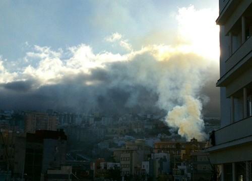 Un incendio cerca del asilo de ancianos causa la alarma entre los vecinos