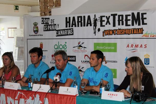 Presentación carrera de montaña Haría Extreme