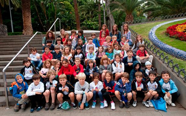 2º de Primaria del Colegio Alemán de Tenerife. / F. P.