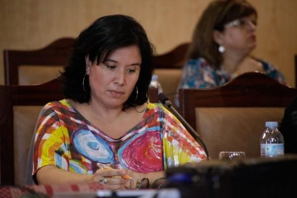 Mayca Coello concejal de Sí se puede Pleno ayuntamiento Candelaria