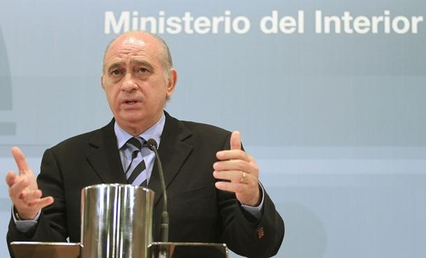 Ministro de Interior Jorge Fernandez Diaz