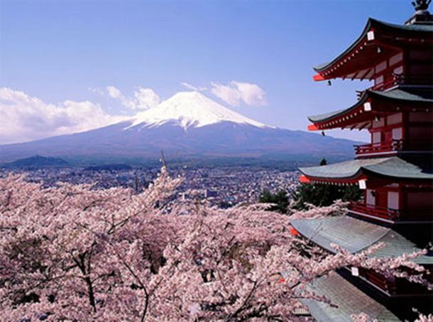 Monte Fuji de Japón Patrimonio de la Humanidad