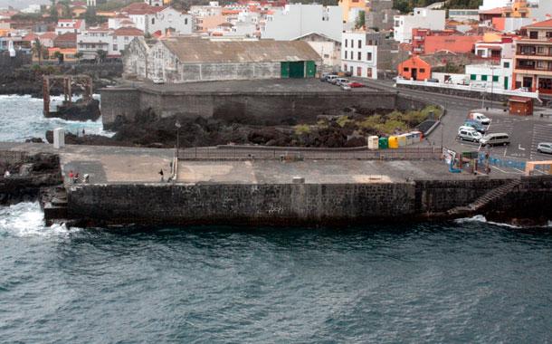 Muelle viejo de Garachico
