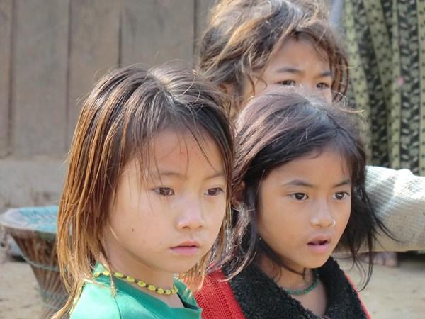 Niñas en Udaypur, Este de Nepal