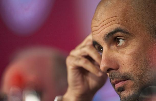 El nuevo entrenador del Bayern Múnich, el español Pep Guardiola