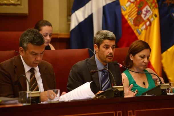 Pleno Santa Cruz Damaso Arteaga Alberto Bernabe