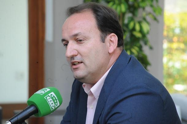 El viceconsejero de Turismo, Ricardo Fernández de la Puente