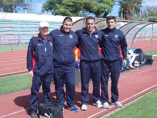 fútbol San Andrés cuerpo técnico