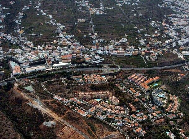 Vista aérea de Santa Úrsula