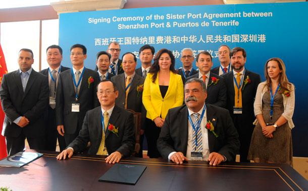 Se trata del segundo acuerdo de estas características que firman a nivel mundial. / JAVIER GANIVET