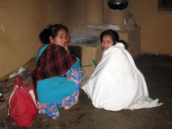 Binita y Kanchi