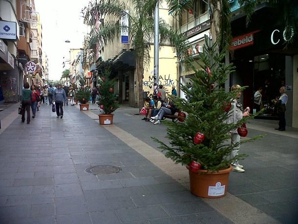 calle Castillo, en la pasada campaña de rebajas