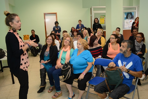 taller de integración para  Prestación Canaria de Inserción (PCI)