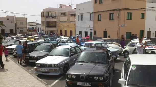 Expo Auto Ciudad de Güímar  en la Plaza de San Pedro