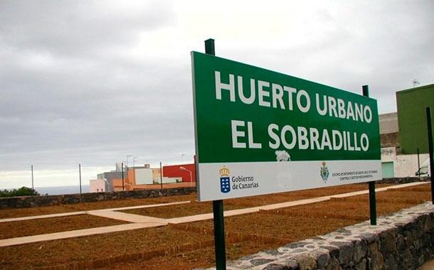 huerto urbano El Sobradillo en Santa Cruz de Tenerife