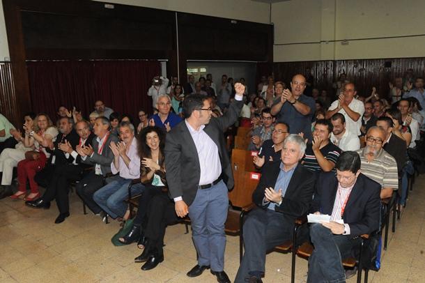 reeleccion Gustavo Santana secretario  UGT Canarias JG 8-6-2013 (11).JPG